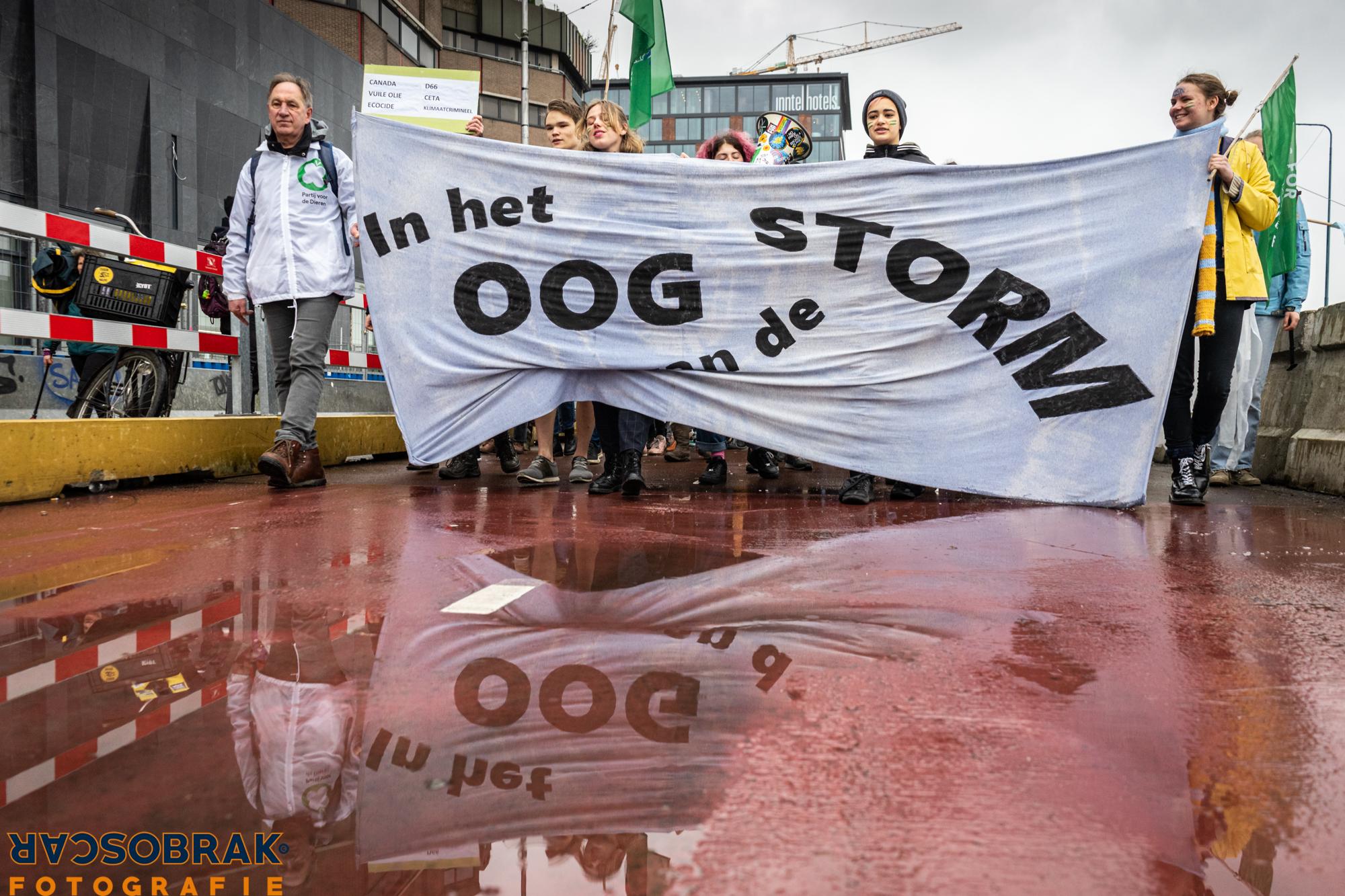 klimaatmars, utrecht, oog van de storm, oscar brak fotografie