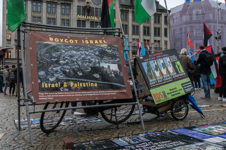 Dam Amsterdam Palestina Israël conflict Oscar Brak Fotografie