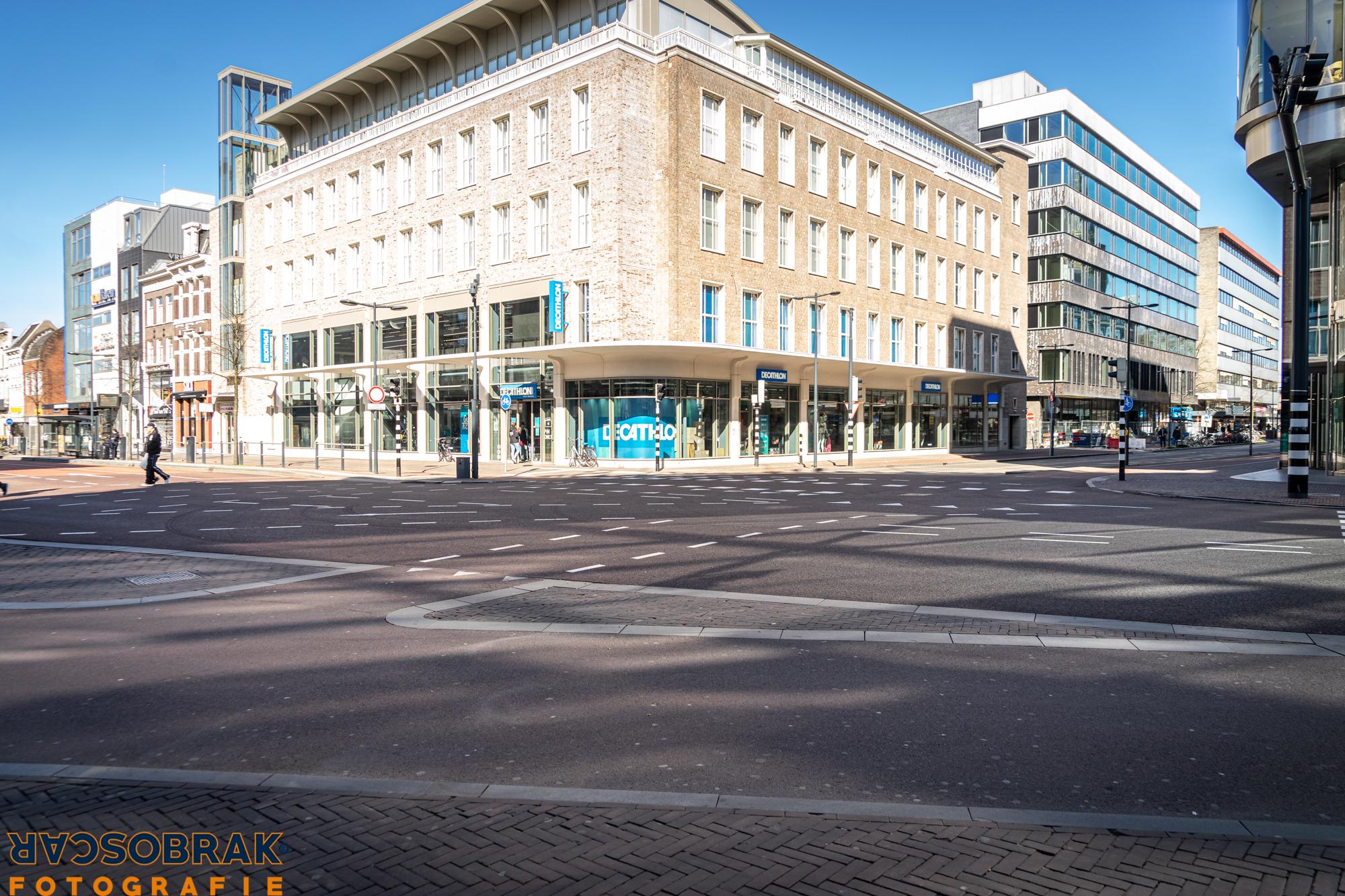Utrecht Centrum, Corona, Covid-19, Oscar Brak Fotografie