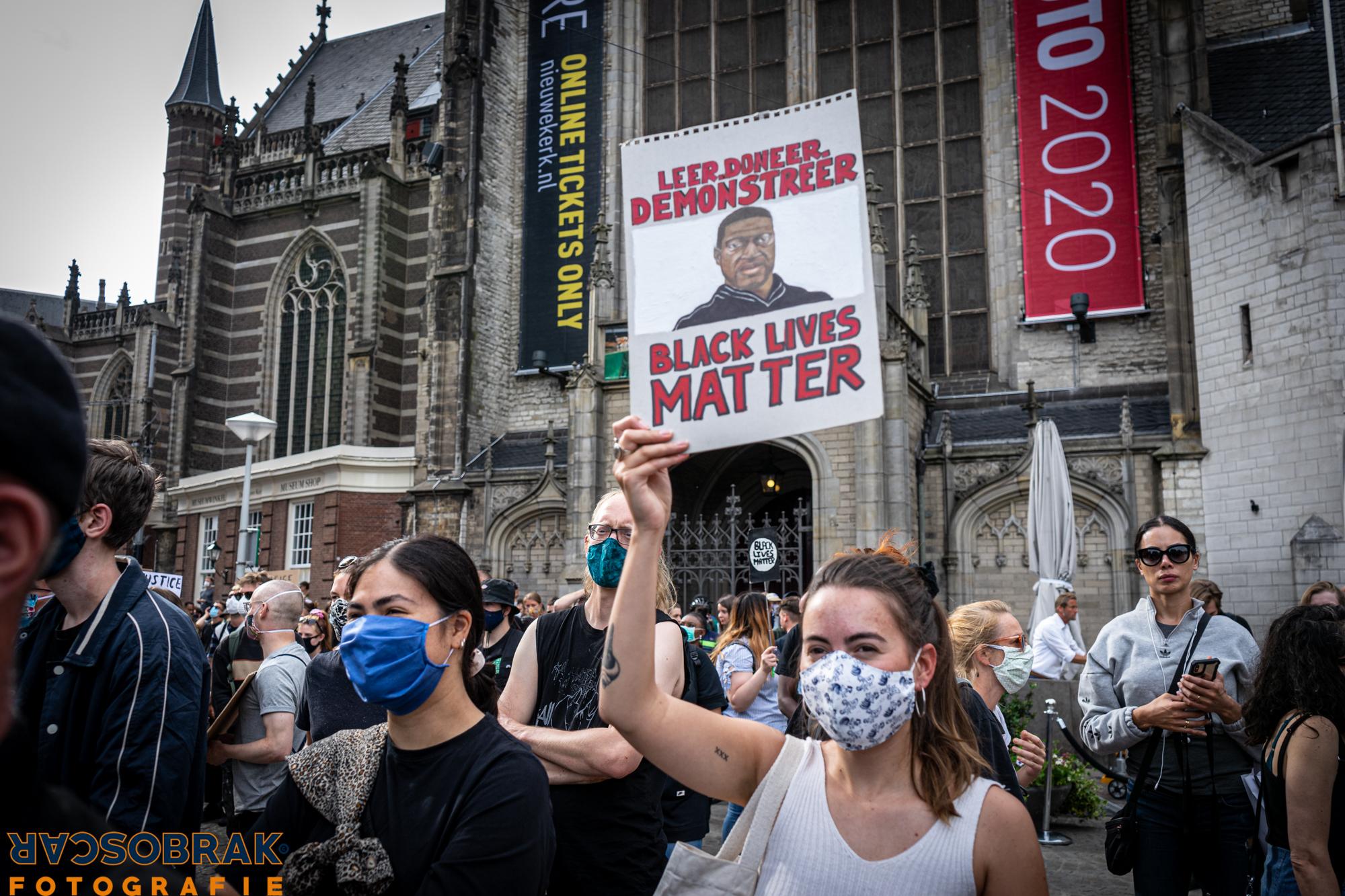 police brutality, black lives matters, amsterdam, oscar brak fotografie