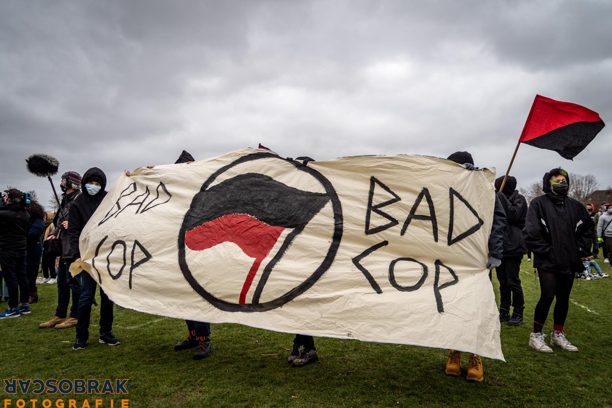 landelijke racisme demo oscar brak fotografie