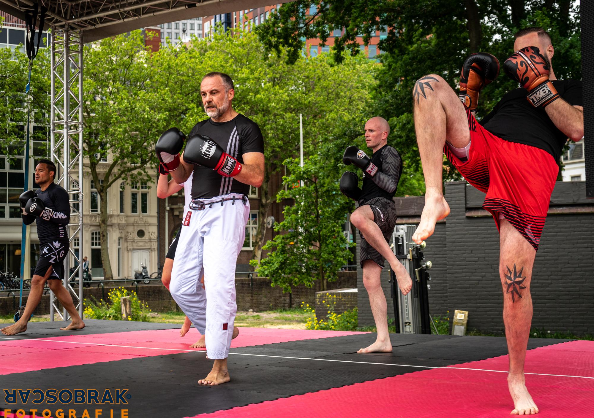 vechtsport mma kickboksen erneste hoost den haag oscar brak fotografie
