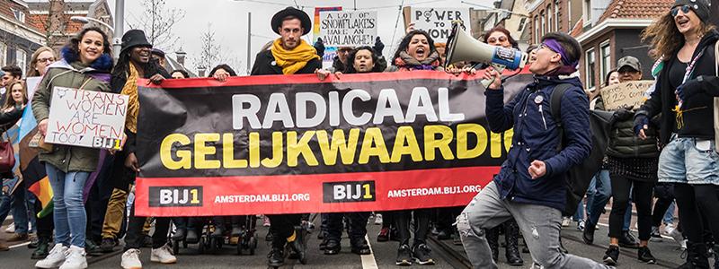 women's rights march amsterdam oscar brak fotografie