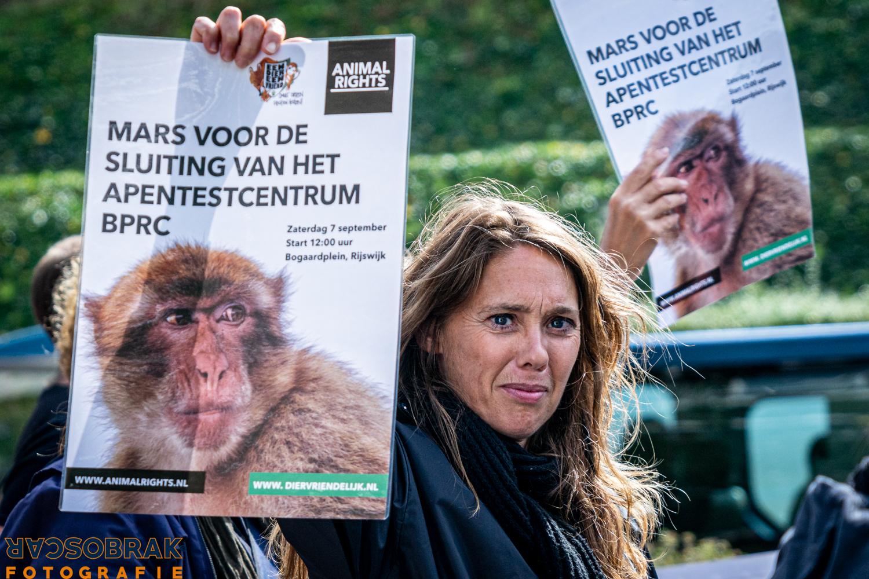 alle apen vrij animal rights rijswijk oscar brak fotografie