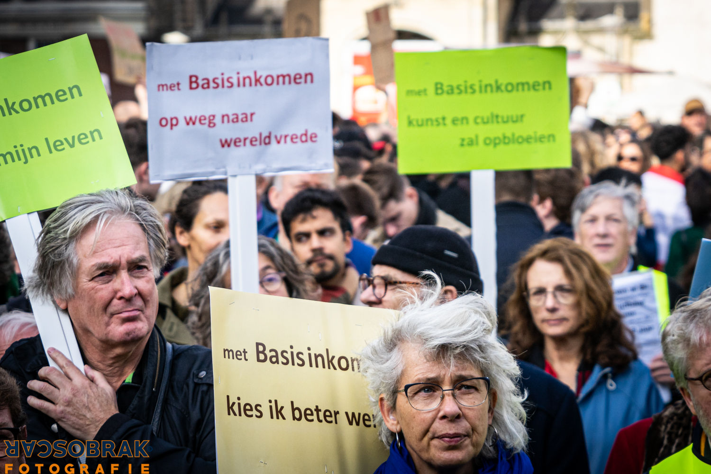 Basisinkomen Amsterdam Dam Oscar Brak Fotografie