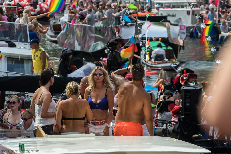 Canal Pride Amsterdam Oscar Brak