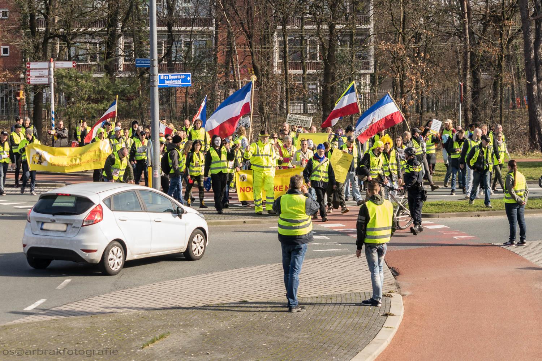 gele hesjes vestjes gilet jaunes yellow vests hilversum oscar brak fotografie