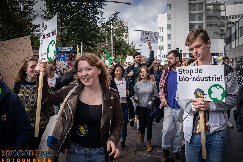Klimaatstaking Den Haag Oscar Brak Fotografie