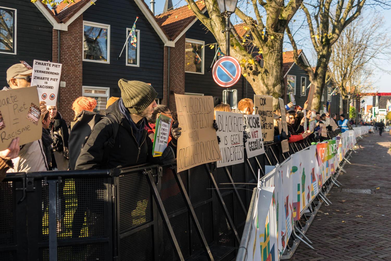 Zwarte Piet demonstratie Oscar Brak Fotografie