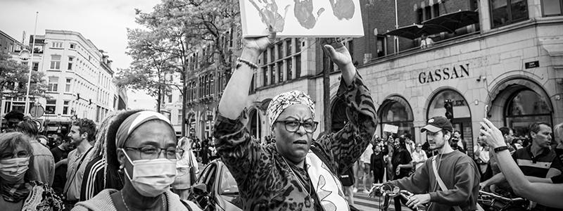 black lives matter amsterdam dam 1 juni oscar brak fotografie